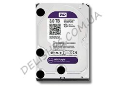 Жесткий диск HDD 3ТБ  Western Digital Purple