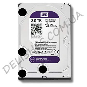 Жорсткий диск HDD 3Тб Western Digital Purple