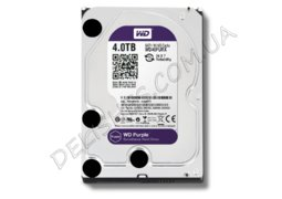 Жесткий диск HDD 4ТБ  Western Digital Purple